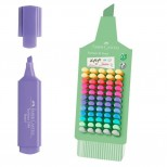 Expositor rotulador fluor y pastel Faber-Castell 80 unid.