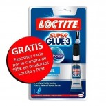 Pegamento Loctite SuperGlue 3 g.
