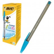 Bolígrafo Bic Fun Fashion Colour tinta base de aceite turquesa ref. 929074