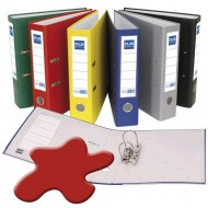 Archivador Plus Office Folio rojo ref. E-3-R