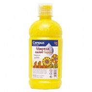 Témpera líquida Campus University amarillo 500 g. ref. G-500