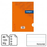 Recambio Campus University A4 Horizontal 100 h. 90 g. ref. 2440