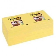 Blocs notas reposicionables Post-it Super Sticky 76x76 mm