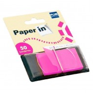 Dispensadores 50 banderitas Paper In Rosa ref. 45547-P