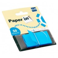 Dispensadores 50 banderitas Paper In Azul ref. 45547-B