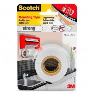Cinta adhesiva blanca doble cara Mounting Scotch