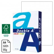 Papel Double A Color Print blanco A4 90 g. 500 h.