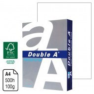 Papel Double A Presentation blanco A4 100 g. 500 h.