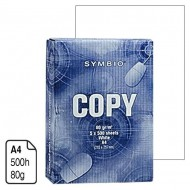 Papel Symbio Copy blanco A4 80 g. 500 h.