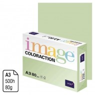 Papel Antalis Image Coloraction verde pastel A3 80 g. 500 h. ref. Jungle