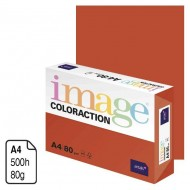 Papel Antalis Image Coloraction rojo teja A4 80 g. 500 h. ref. London
