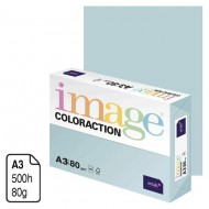 Papel Antalis Image Coloraction azul pastel A3 80 g. 500 h. ref. Lagoon