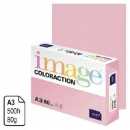 Papel Antalis Image Coloraction rosa pastel A3 80 g. 500 h. ref. Tropic