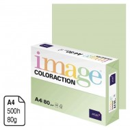 Papel Antalis Image Coloraction verde pastel A4 80 g. 500 h. ref. Jungle