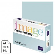 Papel Antalis Image Coloraction azul pastel A4 80 g. 500 h. ref. Lagoon